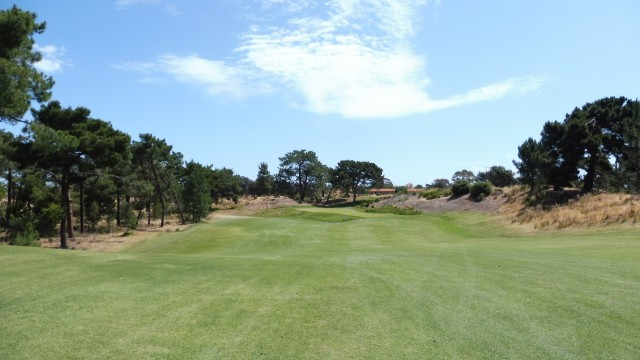 The 3rd fairway at Royal Adelaide Golf Club