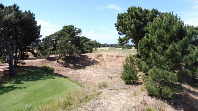 The 4th Hole at Royal Adelaide Golf Club