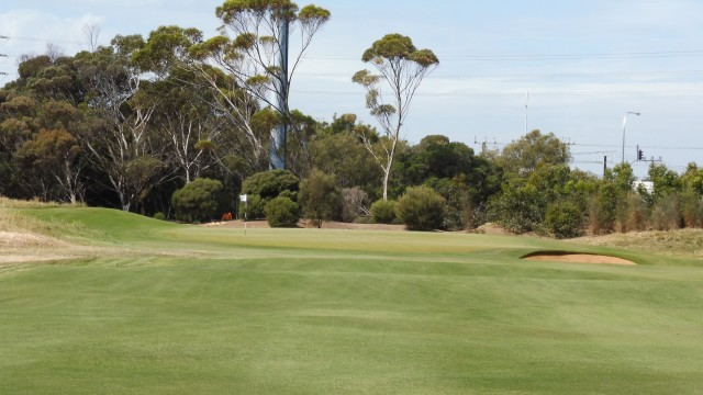 The 5th green at Royal Adelaide Golf Club