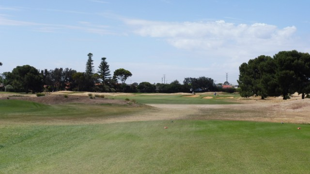 The 5th tee at Royal Adelaide Golf Club