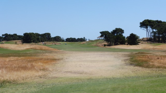 The 6th tee at Royal Adelaide Golf Club