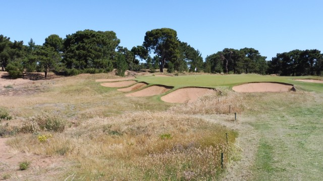 The 7th green at Royal Adelaide Golf Club