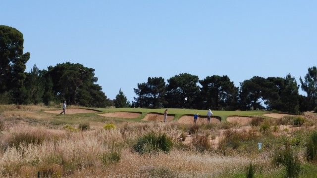 The 7th tee at Royal Adelaide Golf Club