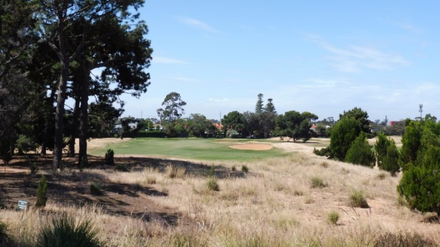 The 8th tee at Royal Adelaide Golf Club