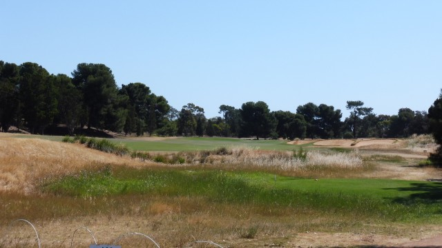 The 9th Tee at Royal Adelaide Golf Club
