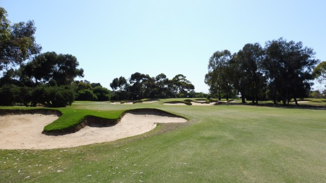 The 13th fairway at The Grange Golf Club East
