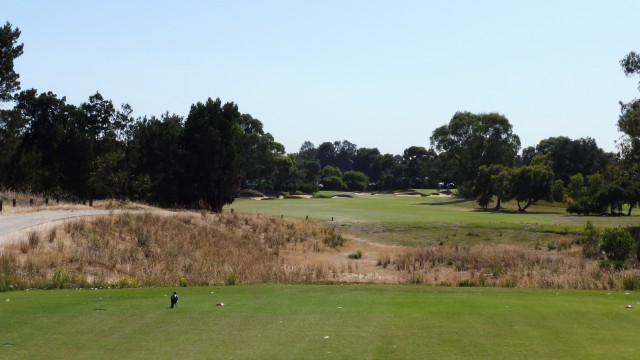 The 13th tee at The Grange Golf Club East