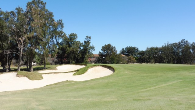 The 16th green at The Grange Golf Club East
