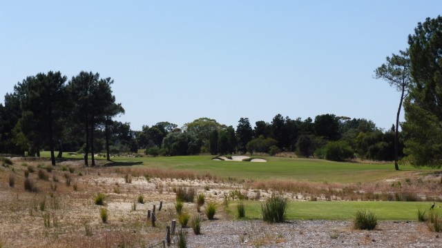 The 17th tee at The Grange Golf Club East