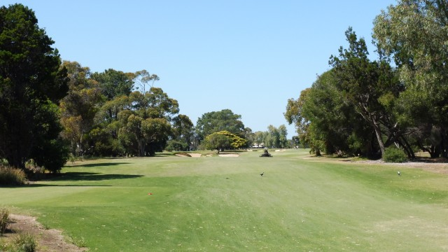 The 18th tee at The Grange Golf Club East