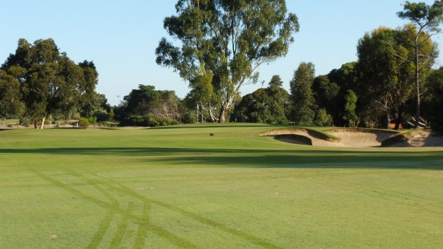 The 2nd green at The Grange Golf Club East