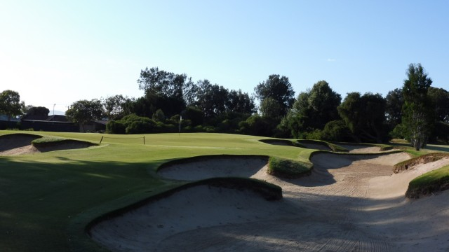 The 3rd green at The Grange Golf Club East