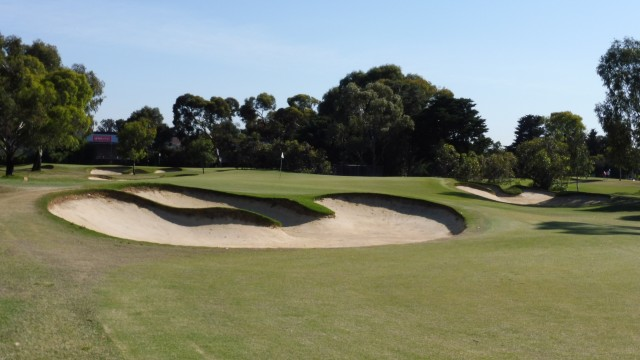 The 8th green at The Grange Golf Club East