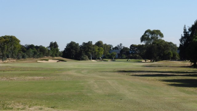 The 8th tee at The Grange Golf Club East