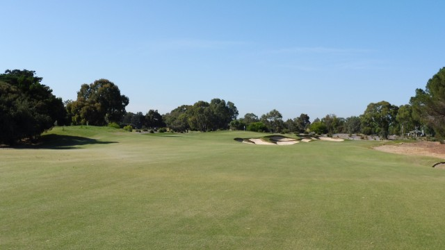 The 9th fairway at The Grange Golf Club East