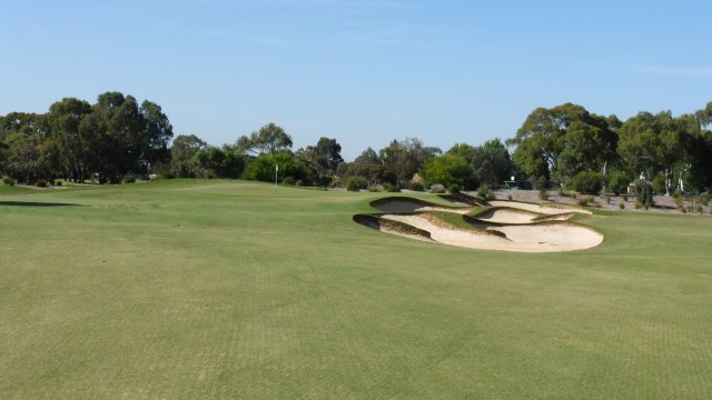 The 9th green at The Grange Golf Club East