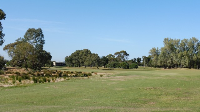 The 9th tee at The Grange Golf Club East