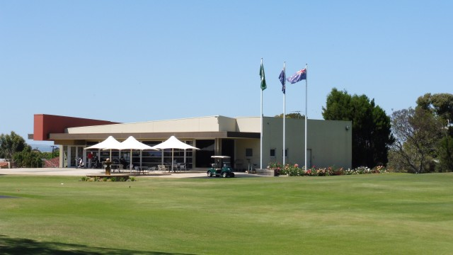 The proshop at The Grange Golf Club