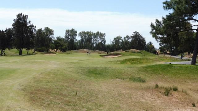 The 7th fairway at Glenelg Golf Club