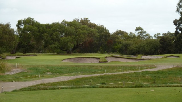 The 11th tee at Woodlands Golf Club