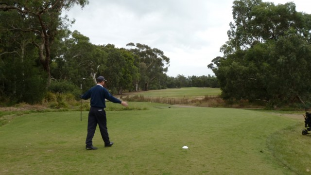 The 14th tee at Woodlands Golf Club
