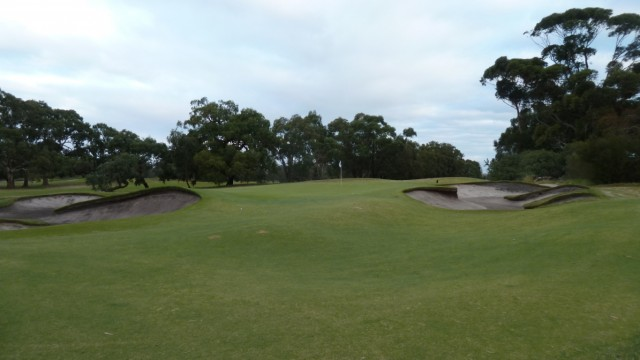 The 17th green at Woodlands Golf Club