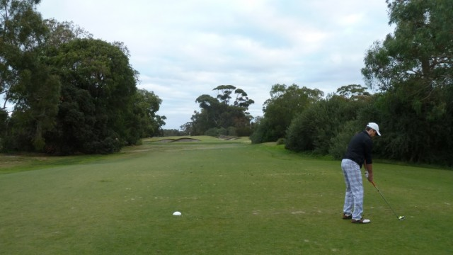 The 17th tee at Woodlands Golf Club
