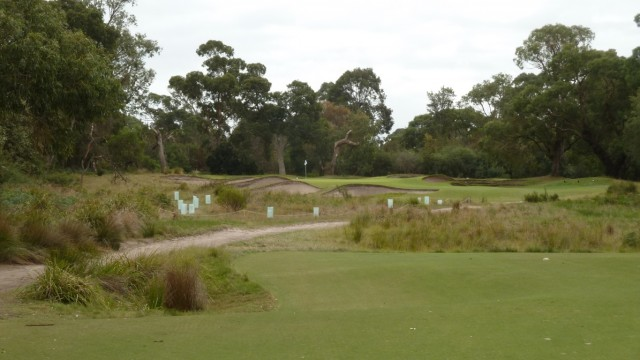 The 5th tee at Woodlands Golf Club
