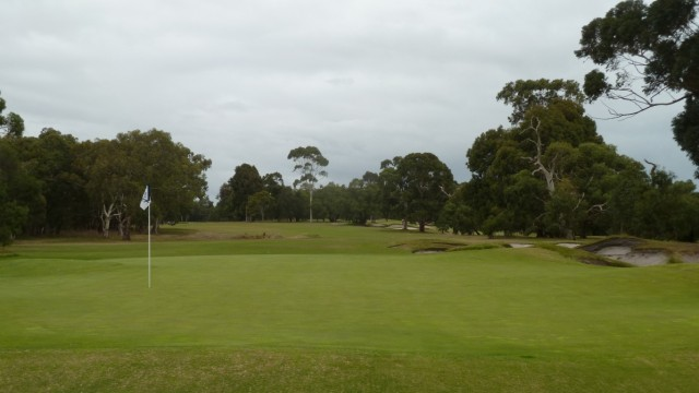 The 6th green at Woodlands Golf Club