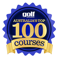 Logo for Golf Australia Magazine Top 100 Course Listing
