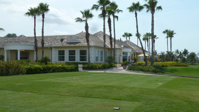The clubhouse at Ocean Club