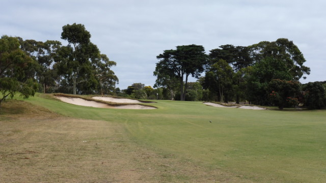 The 10th fairway at Victoria Golf Club