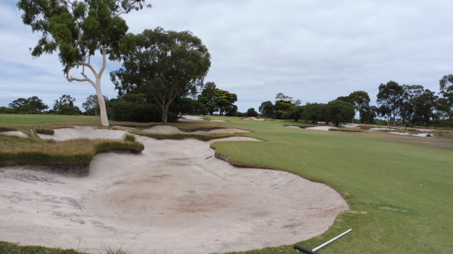 The 11th fairway at Victoria Golf Club