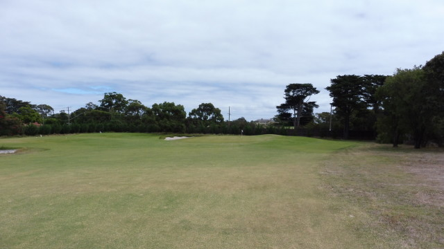 The 12th fairway at Victoria Golf Club
