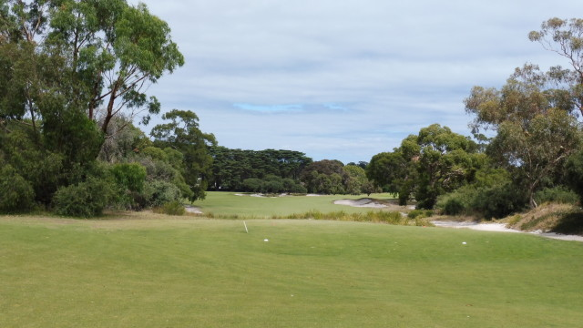The 12th tee at Victoria Golf Club