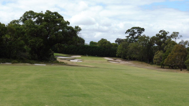 The 13th fairway at Victoria Golf Club