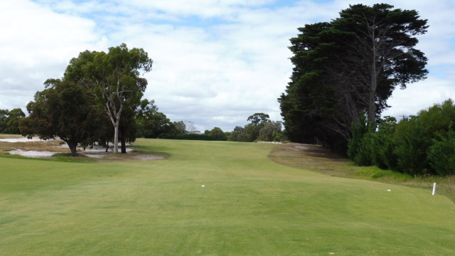 The 13th tee at Victoria Golf Club