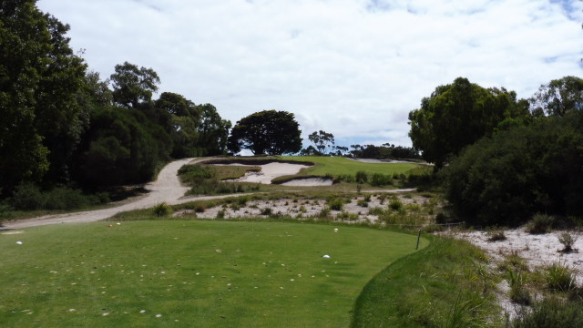 The 14th tee at Victoria Golf Club
