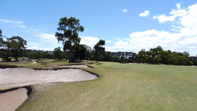 The 15th fairway at Victoria Golf Club