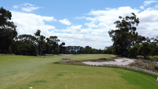 The 15th tee at Victoria Golf Club