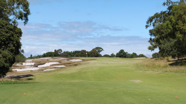 The 16th tee at Victoria Golf Club