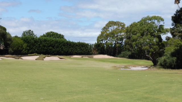 The 17th fairway at Victoria Golf Club