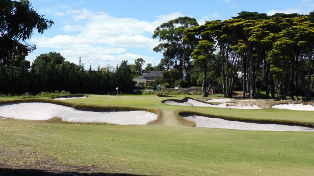The 1st fairway at Victoria Golf Club