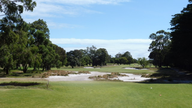 The 2nd tee at Victoria Golf Club
