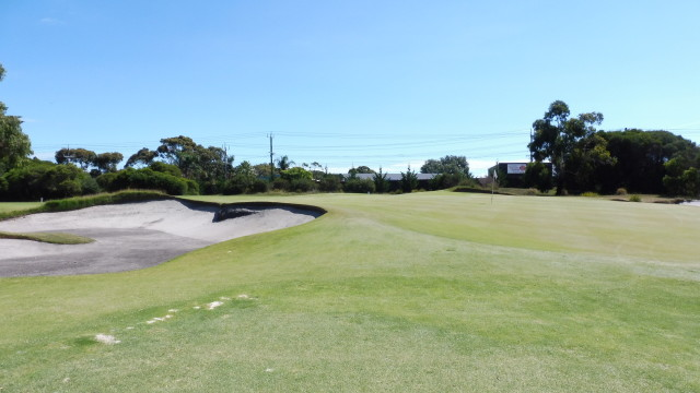 The 3rd green at Victoria Golf Club