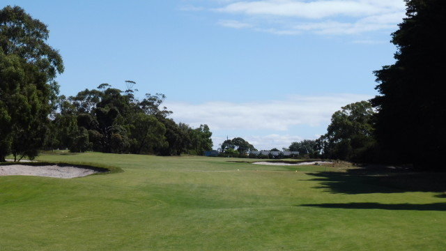 The 3rd tee at Victoria Golf Club