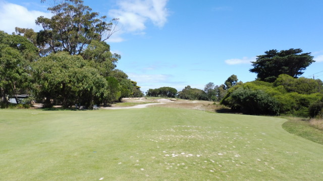 The 4th tee at Victoria Golf Club