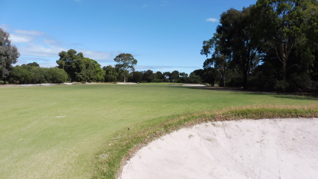 The 5th fairway at Victoria Golf Club