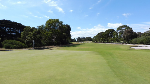 The 5th green at Victoria Golf Club