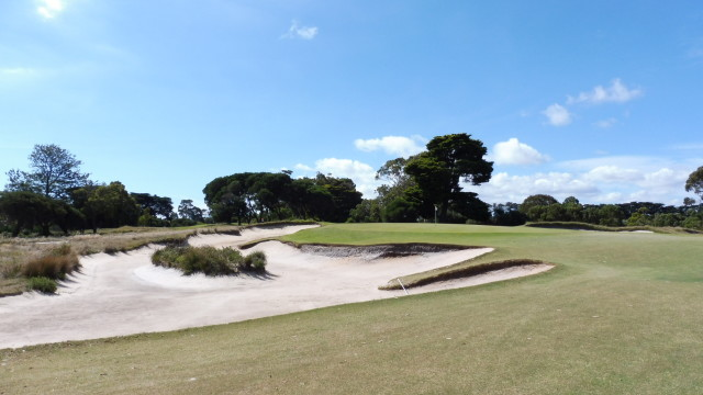 The 6th green at Victoria Golf Club